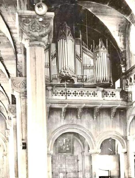 Het orgel in 1930