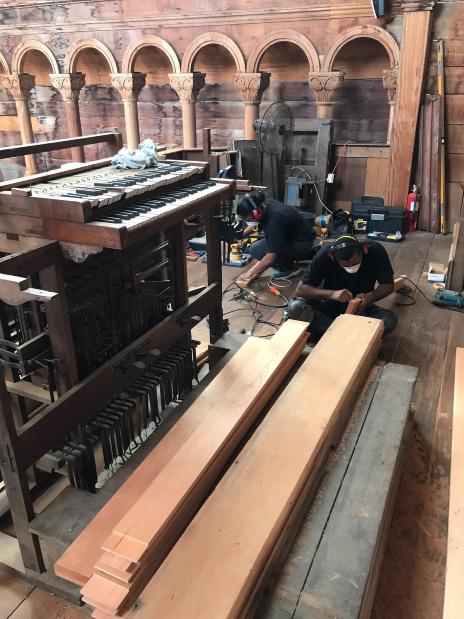 De houtbewerkers